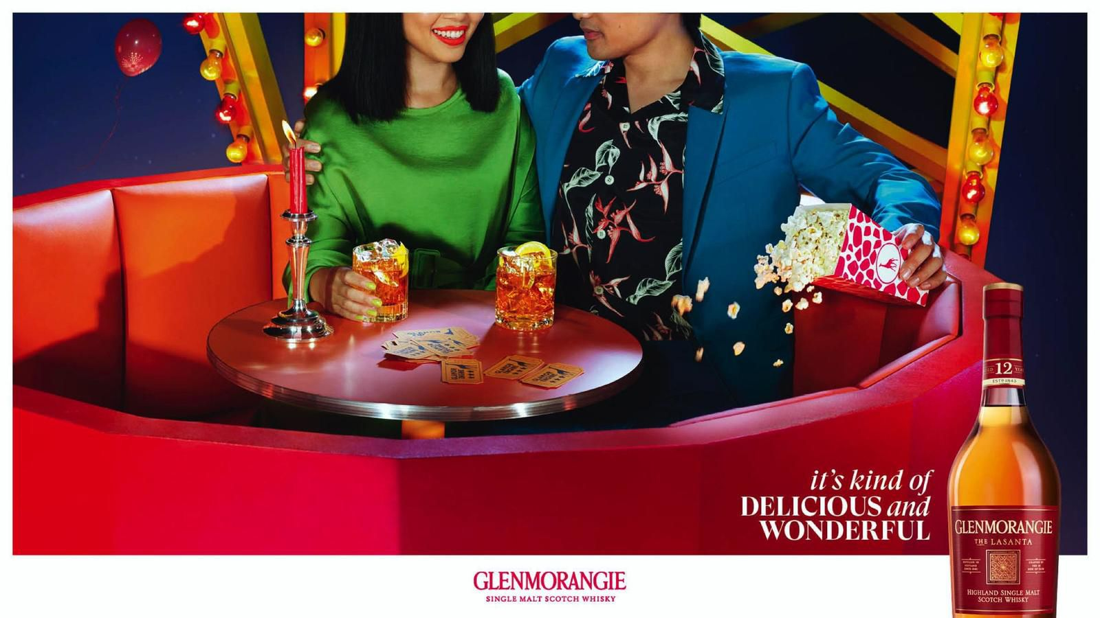 "Glenmorangie Original : ""It's Kind of Delicious and Wonderful"" (whisky) I Agence : DDB Paris, France (décembre 2020)"