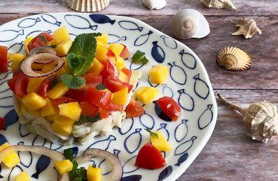 Tartare di Ricciola al Mango