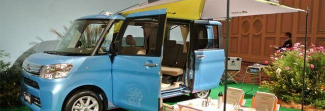 """Le Japon honore Jacques Tati et sa Renault 4L de """"Trafic"""""""