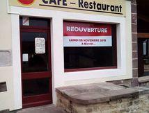 """Réouverture du restaurant """" Le Pont des Fées"""" à Les Voivres"""