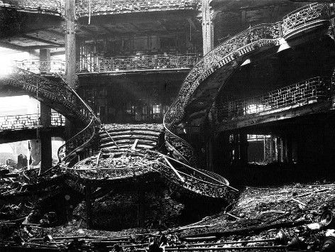 Incendie Printemps 1921 Ph agence Rol