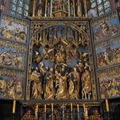 Cracovie - Eglise Sainte-Marie - Le Grand retable de Veit Stoss, - LANKAART