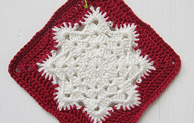 Crochet : Carré 95 et 96