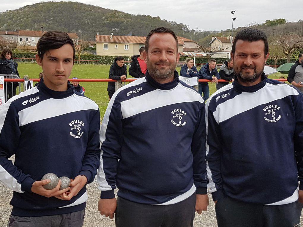 Miramont de Comminges - Le championnat Haute-Garonne Triplettes Hommes