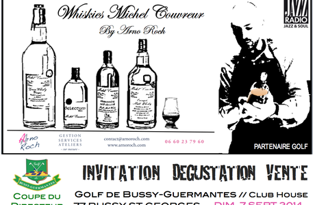Invitation Dégustation Vente Whiskies Michel Couvreur by Arno Roch