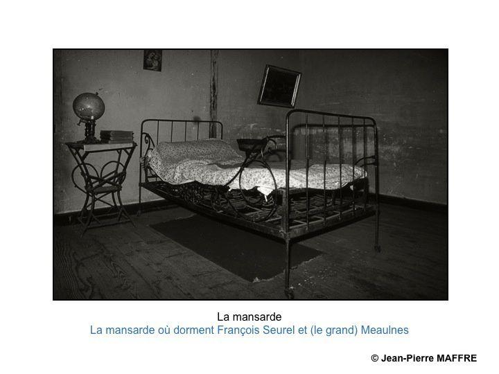 Pour se rapprocher au mieux de l'atmosphère de l'époque du Grand Meaulnes, rien de mieux que des images en noir et blanc virées en sépia.