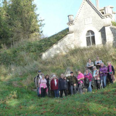 Randonnée du 26 octobre à Berry-au-Bac avec Jacqueline
