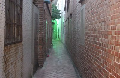 Les jolies ruelles de Lugang 鹿港老街