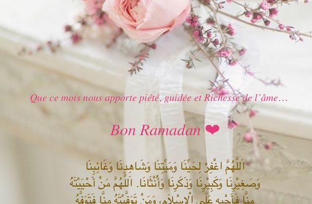 Bon Ramadan :)