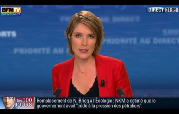 [2012 06 24] LUCIE NUTTIN - BFM TV - WEEK-END 360 @21H00
