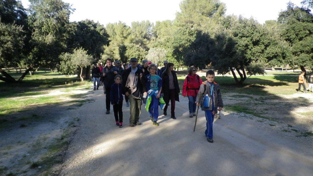 Parcours dans le Parc de Figuerolles à Martigues