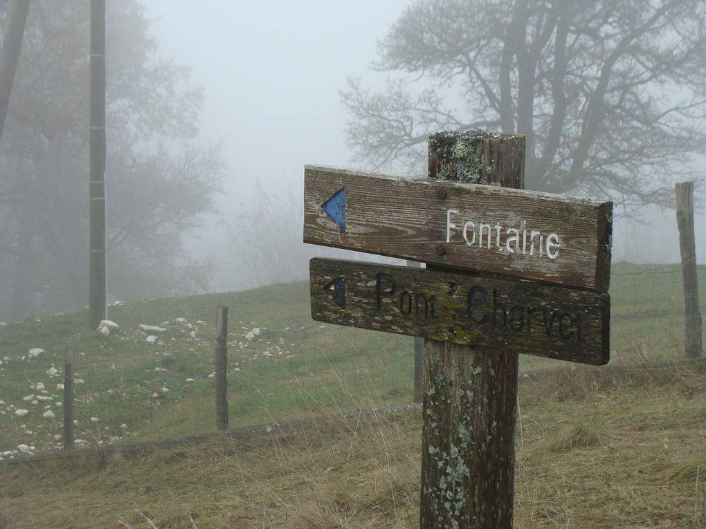 Ma randonnée de samedi : St-Nizier-Du-Moucherotte- Plateau Charvet