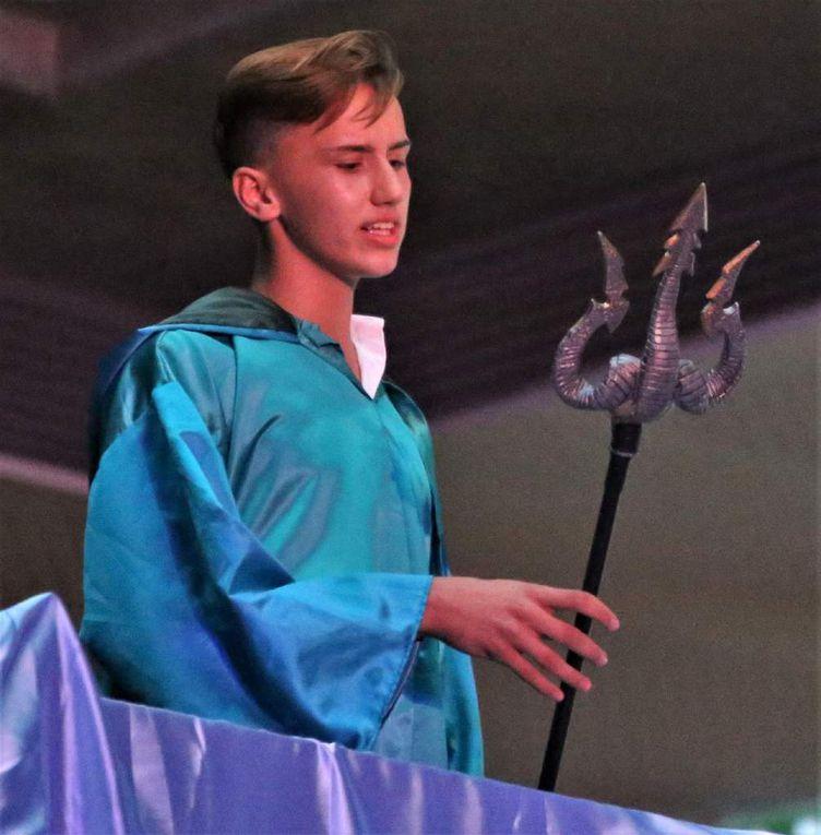 Anton Höfler in einer Doppelrolle als Poseidon und Antinoos