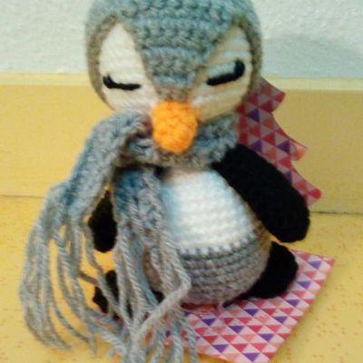 Pingouin au crochet