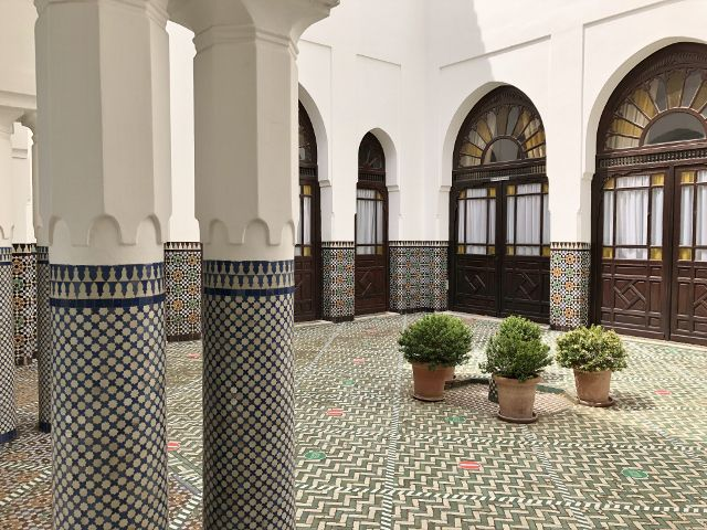 Mosquée de Paris : Les patios