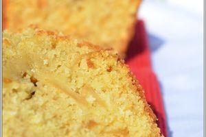 Cake aux pommes fondantes et à la noix de coco