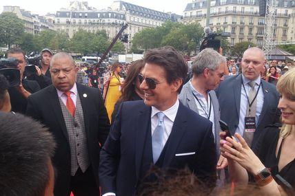 TOM CRUISE AVANT PREMIERE MISSION IMPOSSIBLE 6 au Palais de Chaillot à Paris (12/07/2018)