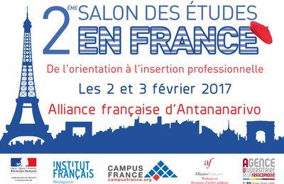 Ambassade de France: Rendez-vous au salon des études en France les 2 et 3 février