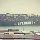 100 ships blocked by a grounded container ship in the Suez Canal - Yachting Art Magazine