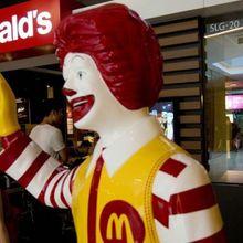 Le clown de Mac Do ressemble à celui de Stephen King