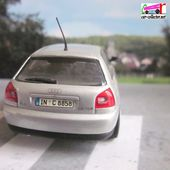 AUDI A3 PAUL'S MODEL ART MINICHAMPS 1/43 - car-collector