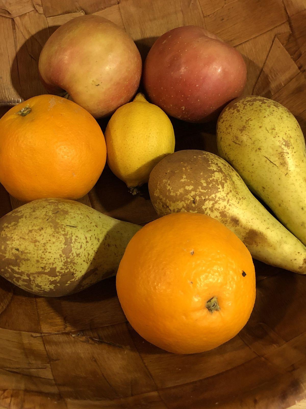 Salade d fruits à la cardamome