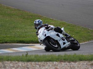 Moto n° 3 blanche