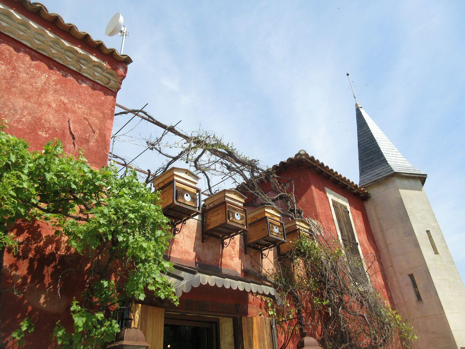 km 681 Psychedelic CROISETTE dans le Gard - Le tour de la Maison Carrée jusqu'au coin des Angles