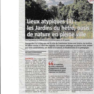 Les Jardins du hêtre à Roubaix, une oasis de nature en pleine ...