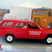 PEUGEOT 504 BREAK CENTRE DE SECOURS DEPARTEMENTAL DE HAUTE CORSE SOLIDO 1/43 - car-collector.net