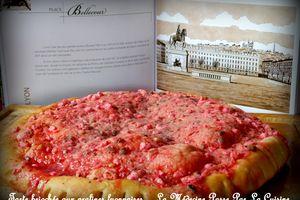 Tarte briochée aux pralines roses de Lyon