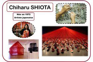 Portrait d'artiste Chiharu Shiota chez Kaloo K2