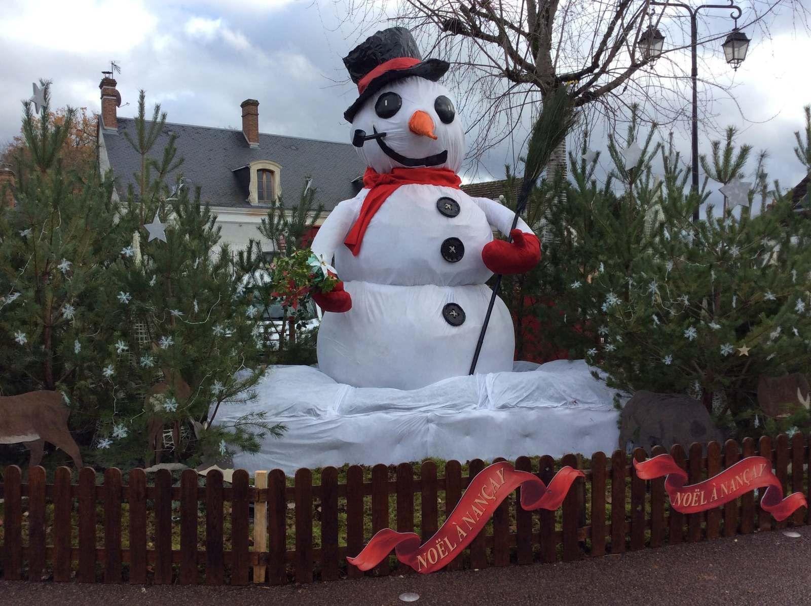 Les décos de Noël à Nançay