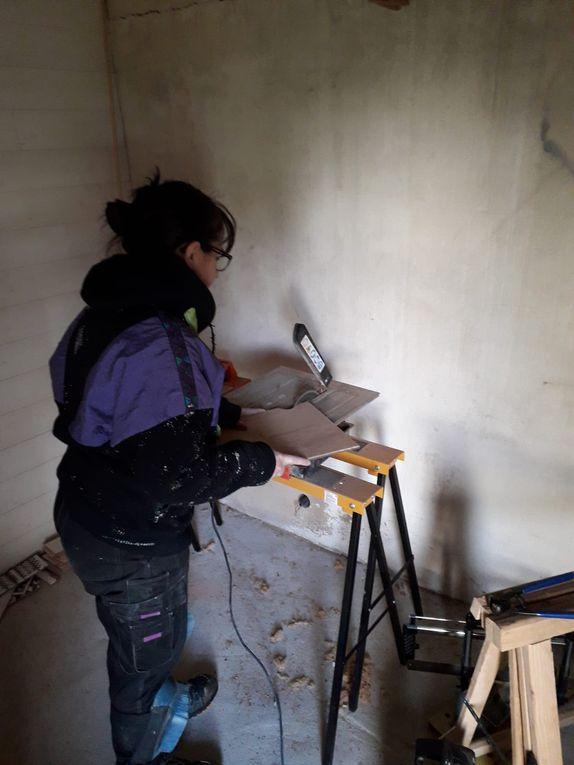 Atelier SAM : carrelage sol