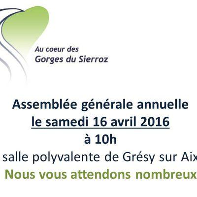 Assemblée générale annuelle 2016