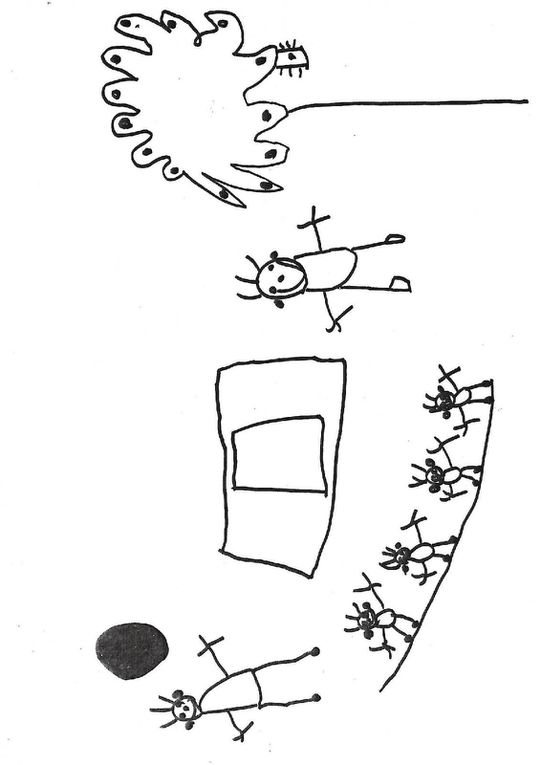 Dessins et commentaires par les enfants de petite et moyenne section de l'école de Bonneville