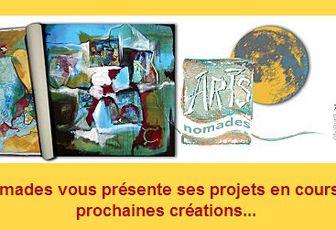 La newsletter Arts Nomades du mois de novembre est en ligne