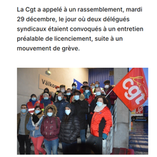Ikéa : réplique à la repression anti-CGT