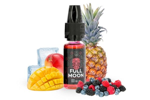 Test - Eliquide - Red de chez Full Moon