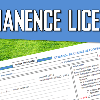 PERMANENCE LICENCE