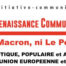 Ni Macron, ni Le Pen ! Front patriotique, populaire et antifasciste contre Macron, l'Union Européenne et le Grand Capital !