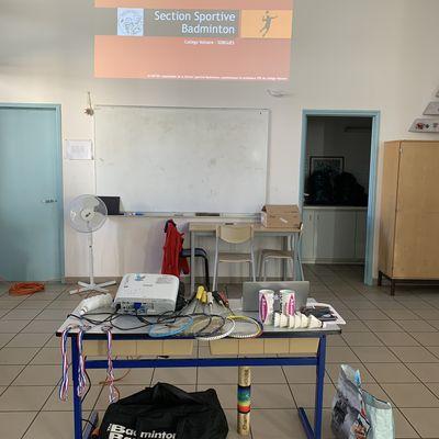 Section Sportive Badminton : présentation/inscription