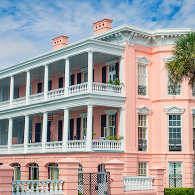 Magniolas' Mansion, house of Duncan Vayton, actually The Palmer House, Charleston