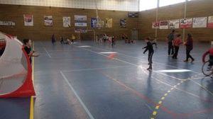 EREA La Plaine participe à l'événement Eysines défie le handicap au handball