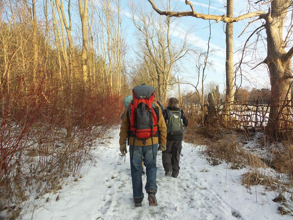 Début 2e saison hivernale du Rideau Trail