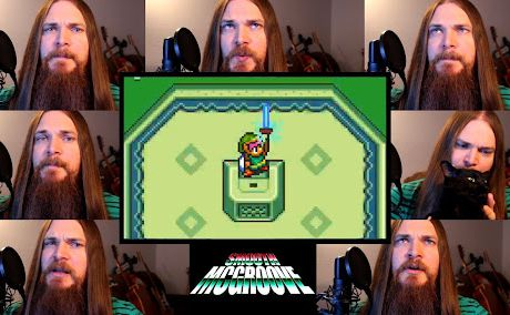 Zelda A Link to the Past - Lost Woods/Master Sword Acapella