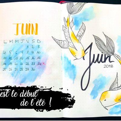 #7 Bullet Journal : C'est le début de l'été !