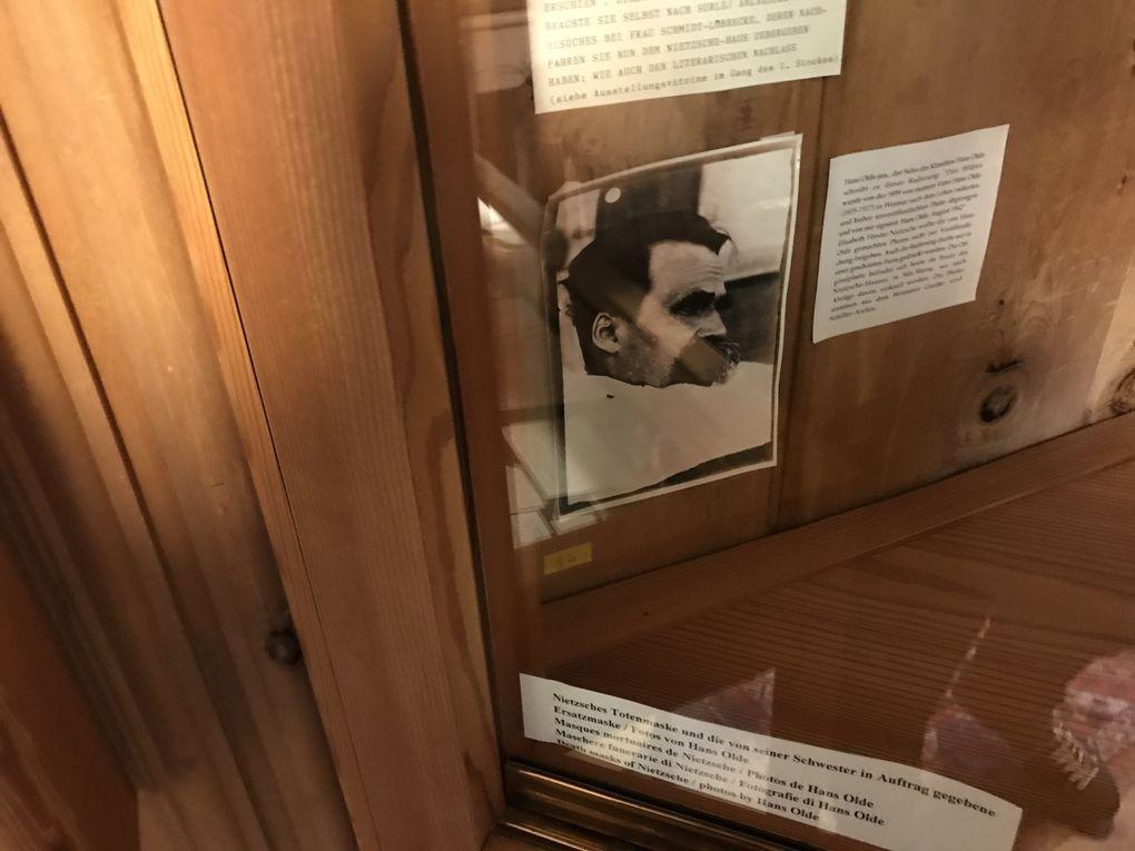 Musée Nietzsche à Sils Maria, Engadin (Suisse) - 23.06.2019