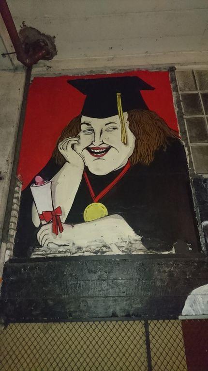 Street art à la cité industrielle de Vincennes