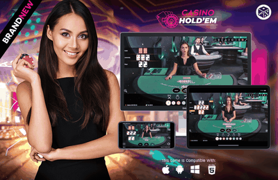 Lancement d'un jeu de Casino Hold'em en direct par Vivo Gaming